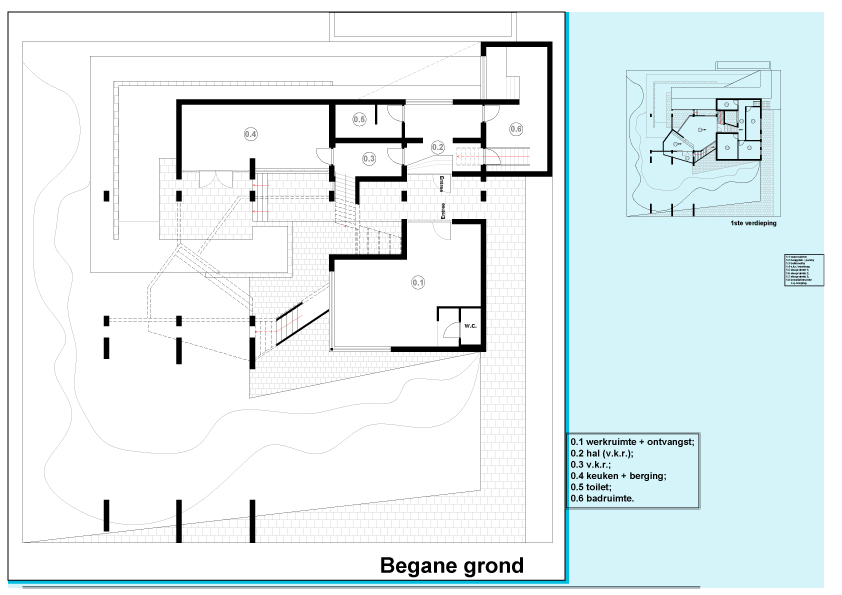 Architectural Things Annex One  0 Ground plan