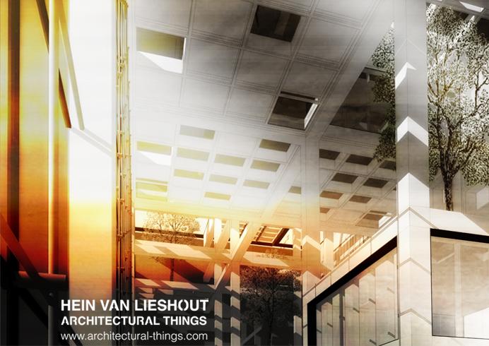 Architectural Things - Hein van Lieshout - the New Dam Interior