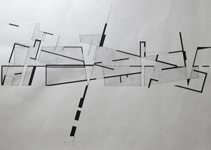 Architectural Things NONspace2DhandSKETCH