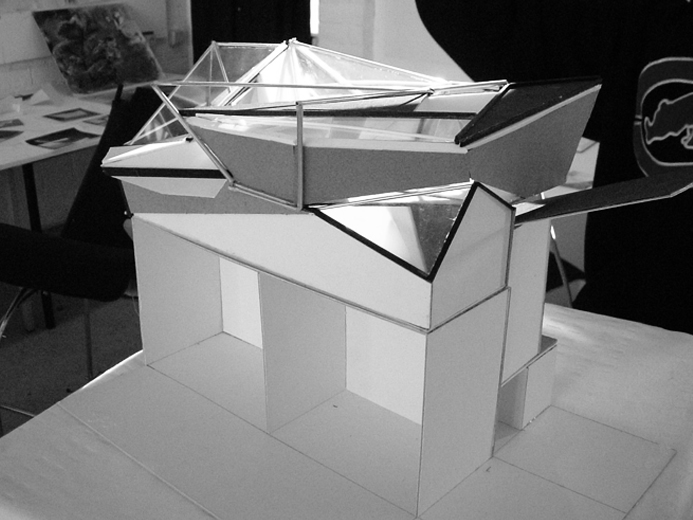 Architectural Things OLD SKOOL MODELS 2003 Borneokade II