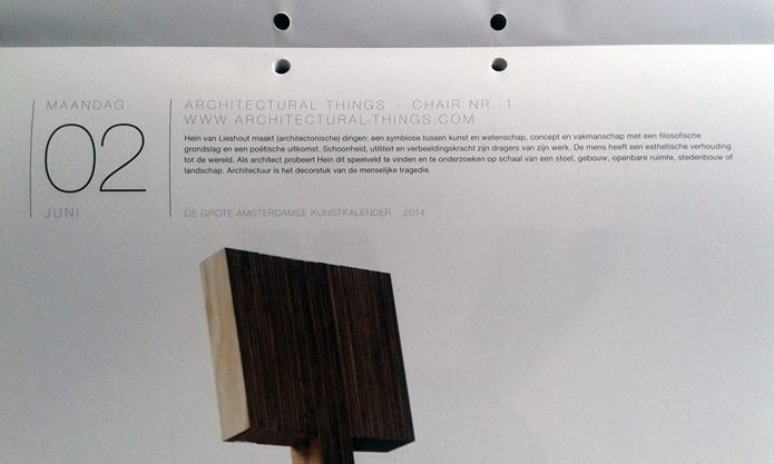 Architectural Things chair I at GAKK2014