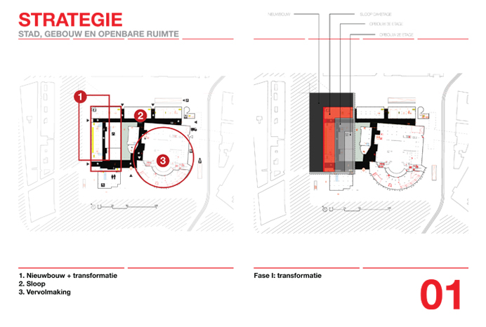 Hein van Lieshout - Architectural Things - New Dam of Amsterdam - 03 Strategy Fase I