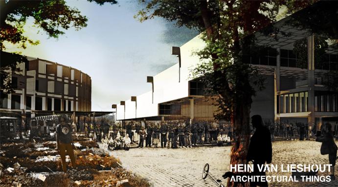 Hein van Lieshout - Architectural Things - New Dam of Amsterdam